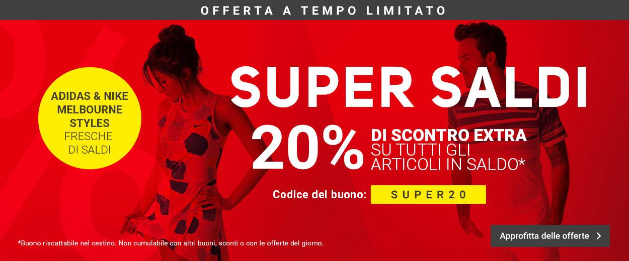 Super Saldi -20%