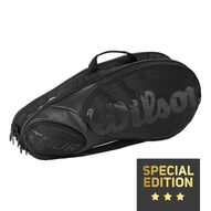 Tour 6er Racket Bag Black/Black (Special Edition)