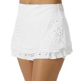 Eyelet Tier Skirt Women