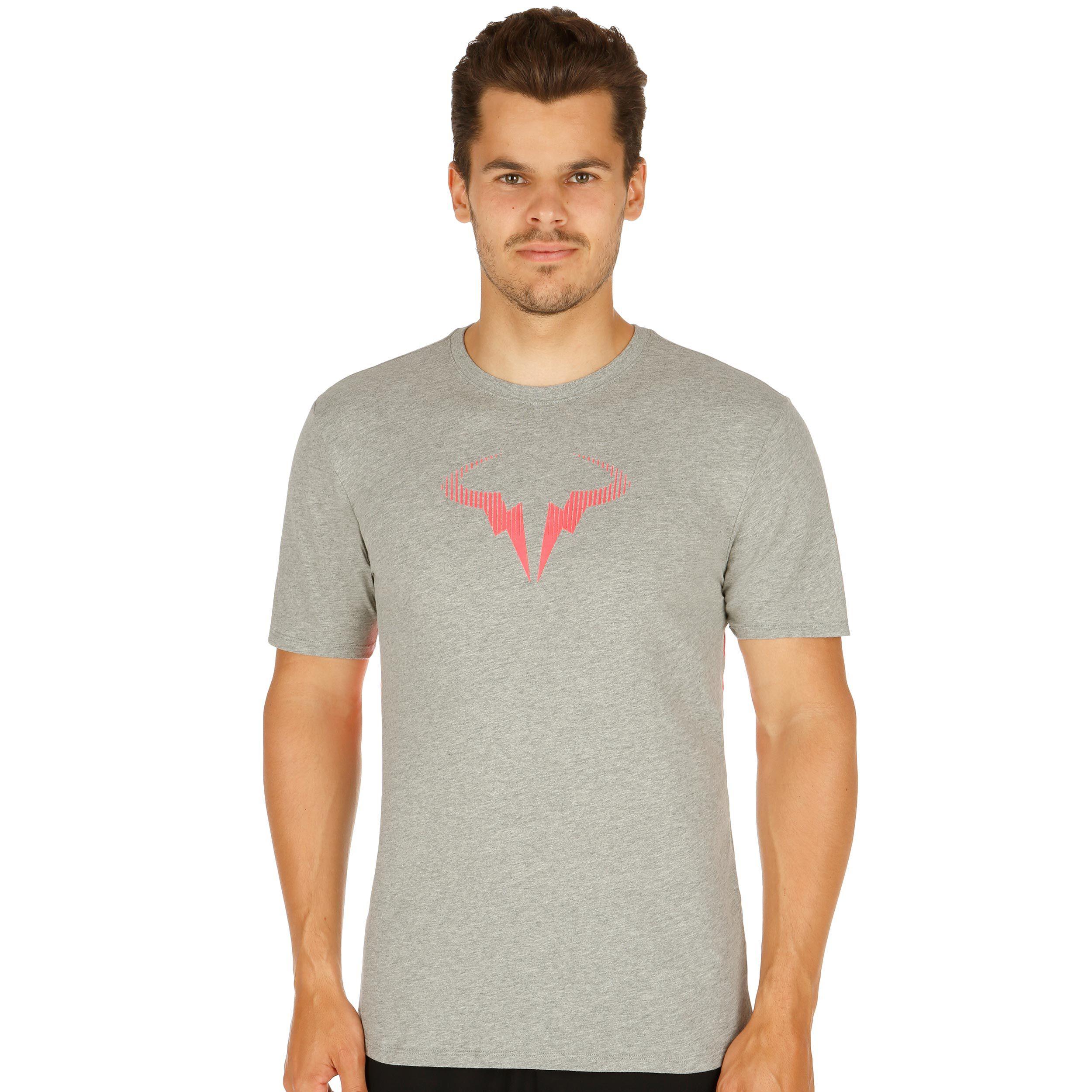 Dunlop T-SHIRT SPORT shirt grande girocollo grigio 85/% Cotone M-XXL
