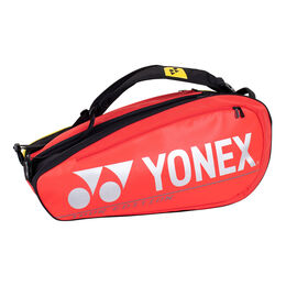 Pro Racquet Bag 10 pcs red